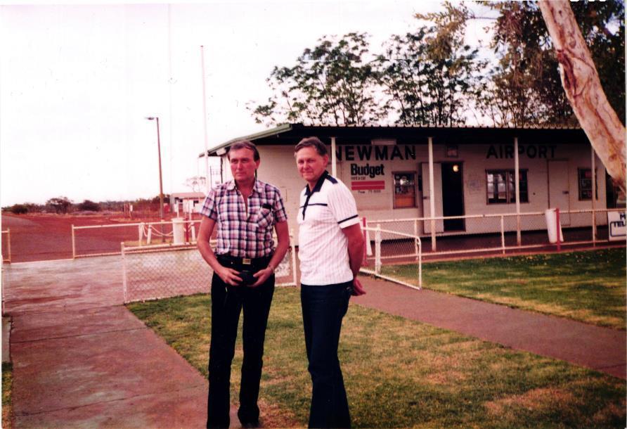 Obrázek 10: Letiště Newman
