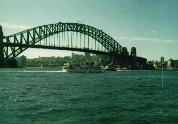 Obrázek 18: Most v Sydney s vítkovickými nýty