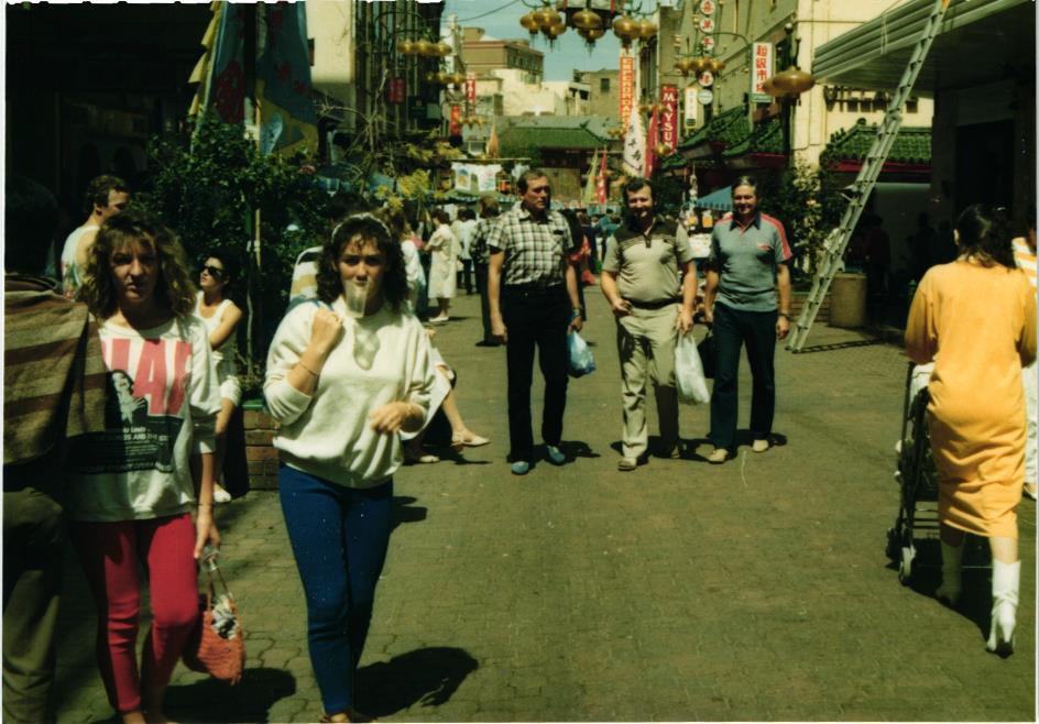 Obrázek 20: Ulice na rovníku