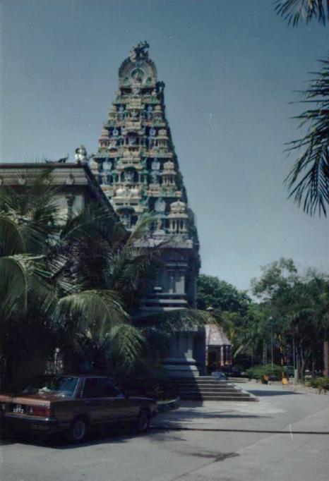 Obrázek 21: Pagoda v Singapuru