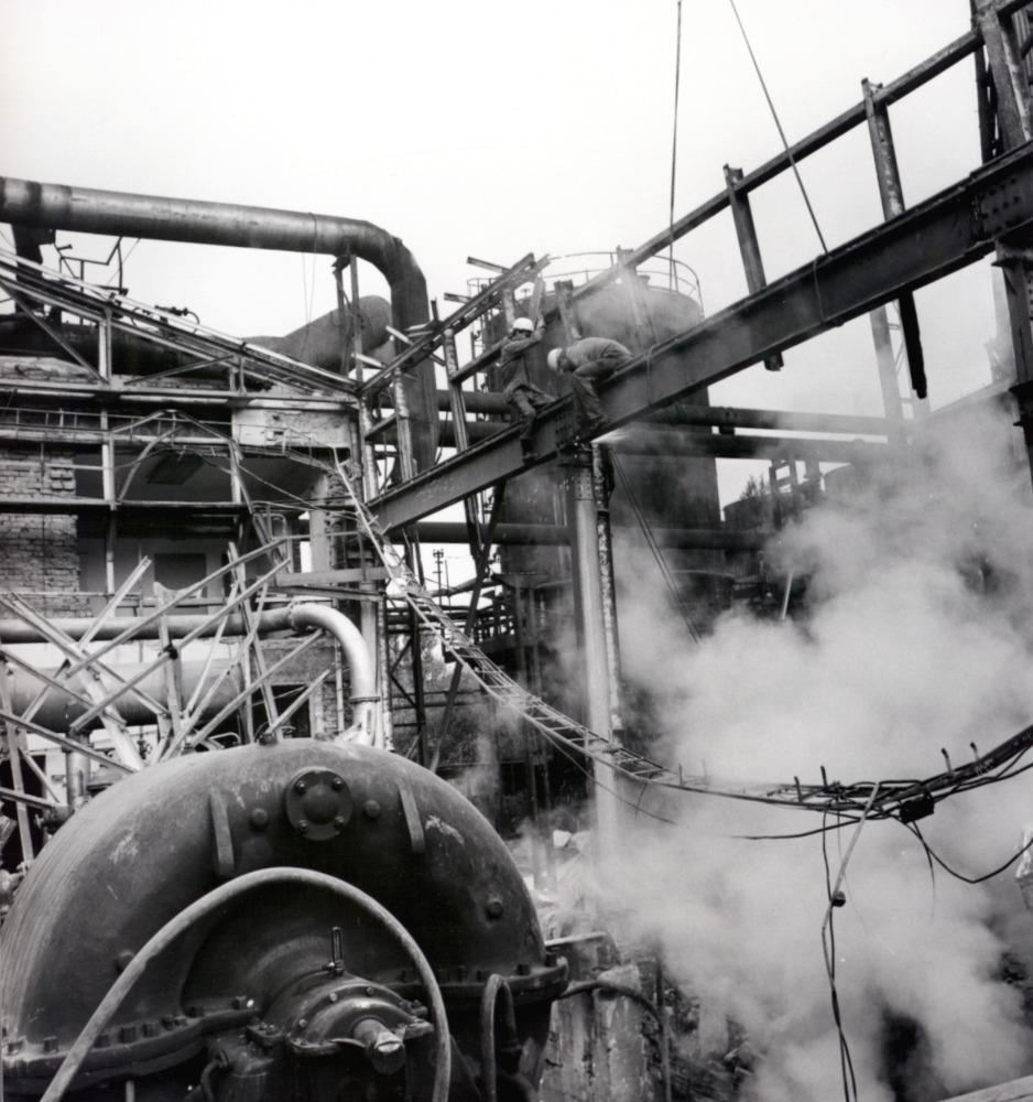 Obrázek 26: Koksovna po havárii turbovny 26. 7. 1989