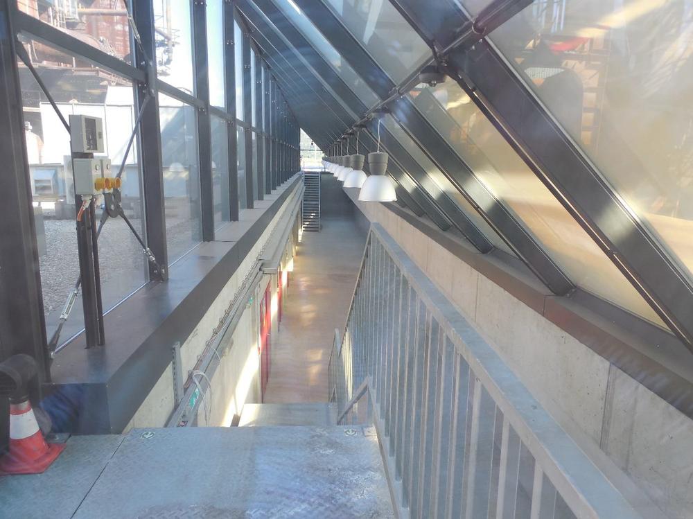 Obrázek 6: Pohled do bývalé čerpací stanice vysokopecních chladících vod
