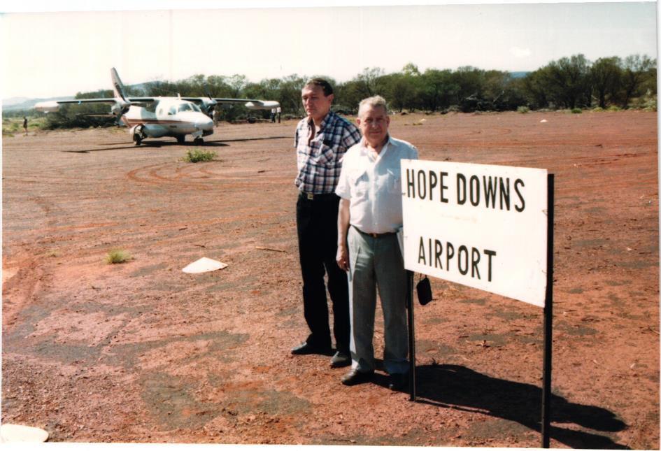 Obrázek 7: Malé letiště Hope Downs