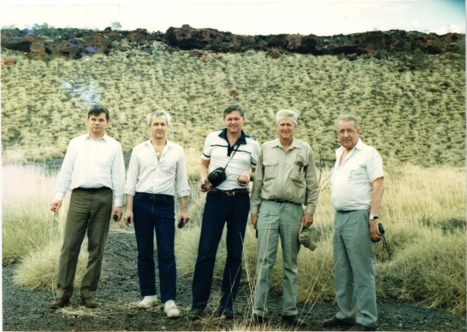 Obrázek 9: Balfour, manganová ruda